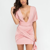 Have It Your Way Convertible Minidress