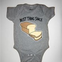 """""""Best Thing Since Sliced Bread"""" Infant Snapsuit"""