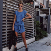 Short Sleeve Party Cocktail Short Mini Dress