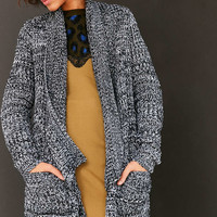 BDG Ava Cozy Waffle Knit Cardigan - Urban Outfitters
