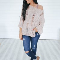 Lasting Impressions Sweater - Taupe