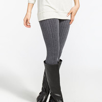 Moonstruck French Terry Womens Leggings Grey  In Sizes