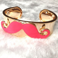 Charlie Chaplin Mustache Bangle GET YOURS AT Candyspell.net