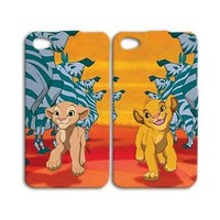 Disney Phone Case Cute Pair Cover Simba Lion King iPhone Zebra Best Friend Cool