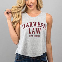 Harvard Graphic Top - FINAL SALE