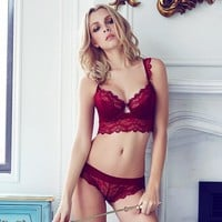 Ladies Lace Permeable Sexy Lingerie = 5990096513