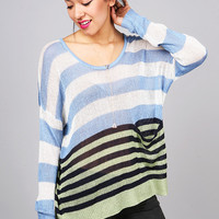 Blake Stripe Knit | Cute Tops at Pink Ice