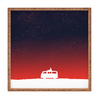 Budi Kwan Quiet Night And Starry Sky Square Tray