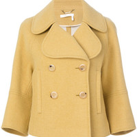 Chloé Cropped Double Breasted Jacket - Farfetch