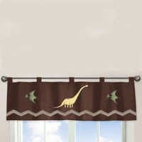 Sweet Jojo Designs Dinosaur Land Window Valance