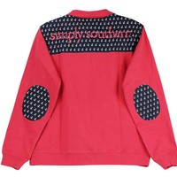 Simply Southern Preppy Collection Anchor Pullover in Coral PULLOVER-ANCHOR-CORAL