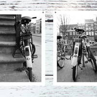 set of 2 buy 2 photos for sale bike art photography Amsterdam print travel poster office decor wall art gift for boyfriend 4x6 5x7 6x8 8x10