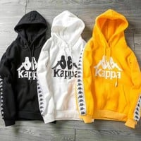 (kappa)Hooded hoodies