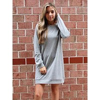 Back To Basic Dress | Grey
