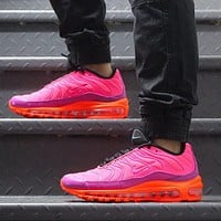 NIKE AIR MAX 97 PLUS New fashion hook sports leisure shoes women