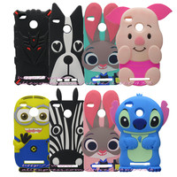 For Xiaomi redmi 3S Case Cartoon Silicon 3D Zootopia Judy Rabbit Back Cover For Redmi3S 3 S Pro Prime 3X Mobile Phone