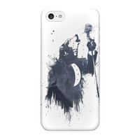Wolf Song 3 Full Wrap High Quality 3D Printed Case for iPhone 5C by Balazs Solti
