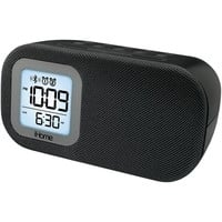 IHOME iBT21BC Bluetooth(R) Bedside Dual Alarm Clock with USB & Line-In