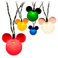 Mickey Mouse Holiday Lights Set | Disney Store