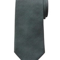 Banana Republic Micro Dot Silk Tie Size One Size - Green