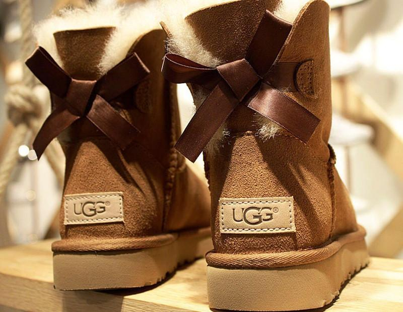 """Image of """"UGG"""" Women male Fashion Wool Snow Boots"""