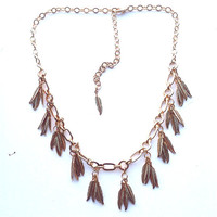 Pluma Necklace I