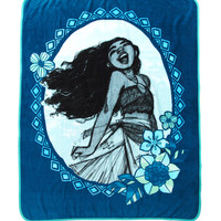 Disney Moana Blue Throw