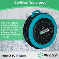 Bluetooth Shower Speaker, 5W Portable Waterproof Speaker Also Ideal for Outdoor, Free Bonus and Satisfaction Guarantee! 60% OFF Today!