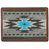 EL PASO NEEDLEPOINT CREDIT CARD WALLET BY SMATHERS & BRANSON