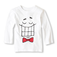 scribble smile graphic tee | US Store