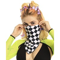 Ch-Ch-Check It Bandana Face Mask