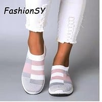 New Elegant Women Flat Slip On Plus Size Loafers