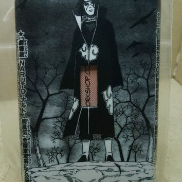 Light Switch Cover and Electrical Outlet, Itachi themed, Handmade. Make a Custom Order and ask about free shipping!