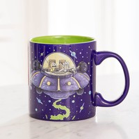 Rick And Morty Space Mug   Urban Outfitters