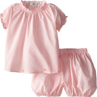 Fendi Kids Two-Piece Top and Bubble Shorts (Infant)