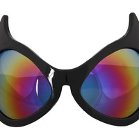 Rainbow Cat Eye Goggles by elope
