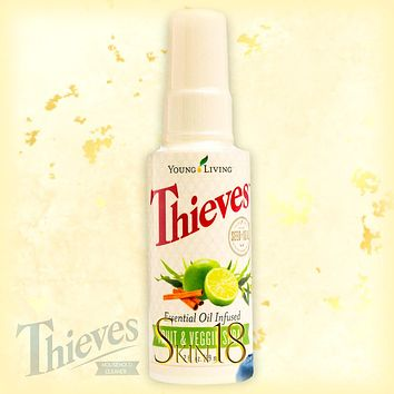Thieves Fruit & Veggie Spray