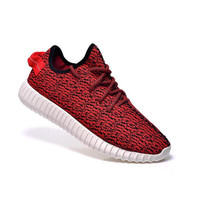 Kanye Milan West Yeezy Boost 350 Sports Shoes for Women Classic Red/Blue 350