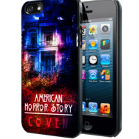 American Horror Story coven Samsung Galaxy S3 S4 S5 Note 3 case, iPhone 4 4S 5 5s 5c case, iPod Touch 4 5 case