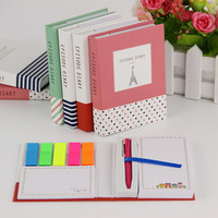 Novelty Creative Kawaii Mini Memo Pad Comes With Ballpoint Pen Notepad Give Their Children The Best Learning Stationery 1pcs