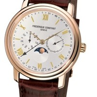 Frederique Constant Business Timer Mens Quartz Watch FC-270SW4P5