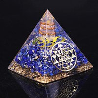 Protection and Prosperity Orgonite Pyramid