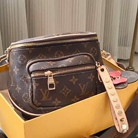 LV Classic Presbyopia Women's Simple Wild Shoulder Bag Crossbody Bag