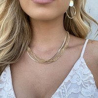 Chain Melody Triple Necklace Set