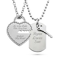 Key To My Heart Pendant Set at Things Remembered