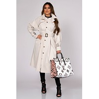 Teagan Belted Trench Coat