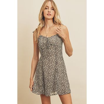 Don't Call Me Baby Floral Slip Dress