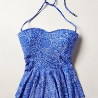 Peplum Tankini Top by Anthropologie