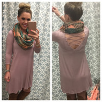 Endless Style Dress: Dusty Rose