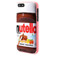 Nutella iPhone 5 Case Framed Pink